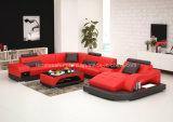 G8009 Luxury Furniture Genuine Leather Sofa New Model
