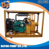 Self Priming Pumps with Trailer for City Dredging