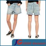 Women Light Blue Fashion Denim Shorts (JC6092)
