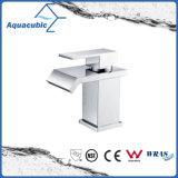 Chromed Surface Solid Brass Body Single Lever Basin Tap (AF6090-6A)