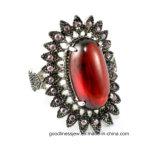 Elengant Jewelry Fashion 925 Sliver Ring -Turquoise