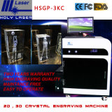 Laser Engraving Machine for Engraving 2D or 3D Patterns in Crystal