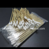 Medical Wooden Stick 6′′ Cotton Applicator /Cotton Bud