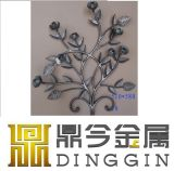 Ornamental Wrought Iron Flower for Gate Decoration