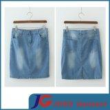 Supply Slit Short Jean Skirts (JC2056)