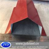 High Qiality Curved Steel Ridge Tile/Ridge Gutter