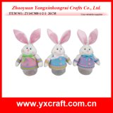 Easter Decoration (ZY14C900-1-2-3 26CM) Easter Plastic Box Decoration Storage Box
