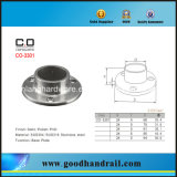Stainless Steel Flange/Base Plate /Inox Railing Components (CO-3301)