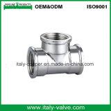 Customized Quality Polishing Forged Brass Equal Tee (AV-BF-8010)