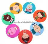 Cheap Round Shaped Rubber Soft Bar Mat Promotional PVC Coaster