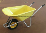 Italy Popular Garden Wheel Barrow with 160kgs Capacity&PP Tray (wb6414-1)