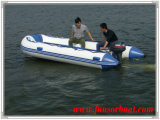 7 Persons 30HP Inflatable Motor Boat with Alloy Floor