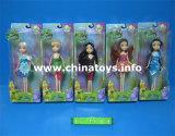 "Girl Doll Top Saler! ! Plastic 9""Solid Doll (674808)"