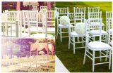 White Wedding Chiavari Chair for Event and Party