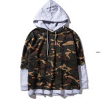 Popular Basic Camo Men′s Pullover Hoodie