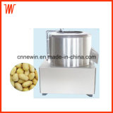 Tube Type Commercial Electric Potato Washer and Peeler Machine