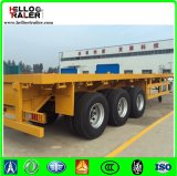Hot Sale 20 40 45 48 Feet Flatbed Skeleton Chassis Container Semi Trailer