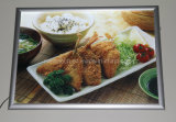 Aluminum Snap Frame LED Menu Slim Light Box for Advertising (SSW-A3L-04)