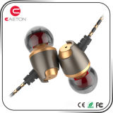 3.5mm Stereo Metal Wired Earphone with Microphone