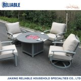 Cast Aluminum Fire Pit Chat Group Garden Furniture Outdoor Patio Furniture