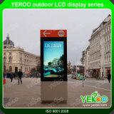 2 Year Warranty Outdoor LCD Advertising Digital Signage Kiosk