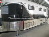New Horse Trailer/Horse Float with Awning From China Manufacturer (OEM Accepted)
