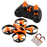 Mini UFO Quadcopter Drone 2.4G 4CH 6 Axis Headless Mode Remote Control Quadcopter RTF Mode 2 Extra Batteries RC Quadcopter with LED Lights