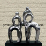 Stainless Steel Abstract Sculpture Handicraft