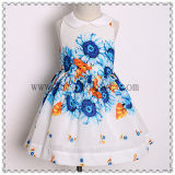 2017 Summer Spring Elegant Girls Cotton Dress for Girls Dress