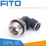 Pl Pneumatic G-Thread Fittings with Nickel Plated and O-Ring Pl8-02