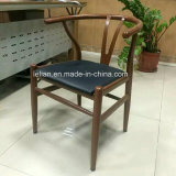 Comfortable PU Uphlstory Dining Chair with Solid Wood Leg (LL-DC006)
