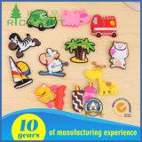 Customized Cartoon Soft Plastic/PVC/Rubber/Print Fridge Magnet Sticker for Souvenir