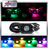 4/6/8/12 Pod Rock RGB LED Chassis Light Car Decoration Underbody