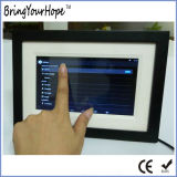 """7"""" Wooden Touch Android Allwinner Wi-Fi Digital Photo Frame (XH-DPF-070W)"""