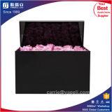 Plain Black Luxury Acrylic Rose Box