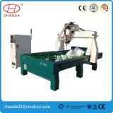 Stone Carving CNC Router with Big Rotary for Granite Statue
