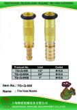 Brass Jet Spray Nozzle; 1′′brass Nozzle with O-Ring