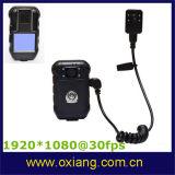 Voice Recorder Police Body Camera HD 1080P GPS /Extra Mini Camera/AV Output Police Video /IP DVR