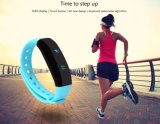 Original Cubot V2 Smart Wristband All-Weather Heart Rate Monitor Real-Time Sport Trail Intelligent Reminder Band for Ios Android Black Color