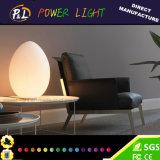 Beautiful Color Flashing Decorative LED Egg Desk Lamp