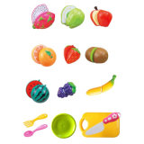 Hot Kids Pretend Play Toys Cutting Fruit Set Kitchen Toy (H3119201)