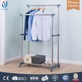 Multi-Function Double Pole Clothes Hanger