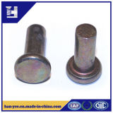 Fashion Round Base Metal Rivets with Chamfer