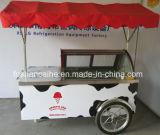 Ce Approved Ice Cream Gelato Vending Display Cart