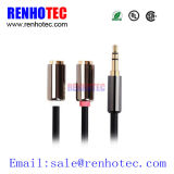 3.5mm to 2RCA Female Cable