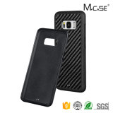 New Design PC Soft TPU Style Smartphone Full Cover Carbon Fiber Case for Samsung S8