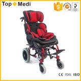 Rehabilitation Equipment Reclining Baby Celebral Palsy Aluminum Wheelchair for Kids