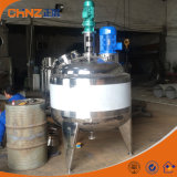 Price of Heated Jacket Stainless Steel Mixing Tank with Agitator 500L 1000L