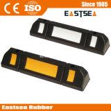 Rubber Single Side Parking Wheel Stopper