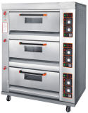 Wholesale Baking Machine Equipment Deck Pizza Oven for Bakery with 3 Decks 6 Trays